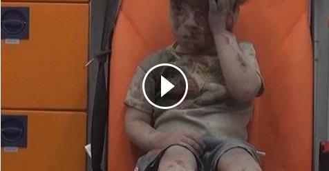 Memilukan! Ini Video Anak Yang Selamat Dari Sejumlah Serangan Udara Di Suriah