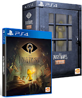 Little Nightmares Game Cover PS4 Six Edition