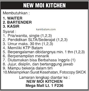 Lowongan Kerja New Moi Kitchen