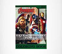 Alfamind Buku Gambar Marvel Avengers Age Of Ultron Extraordinary Power ANDHIMIND