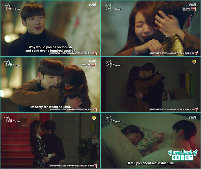 So Joon kiss ma rin crazily - Tomorrow With You: Episode 16 Finale