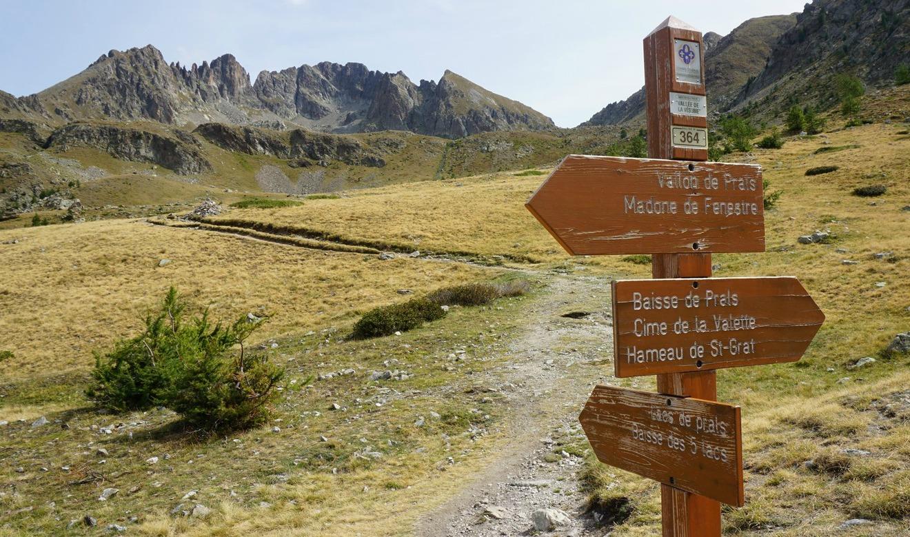 Signpost364 in Vallon de Prals