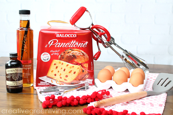 panettone french toast recipe (pannetone recipes)