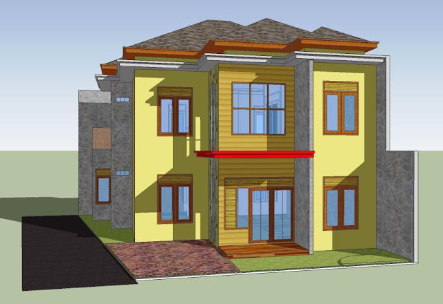Desain Rumah Tinggal Bulusan