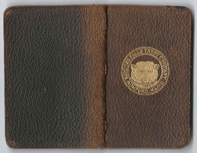 1916 Diary of Annie Louise Mason of Corinna, Maine, Then Living at Waterville, Maine