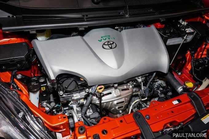 Enjin Toyota Sienta