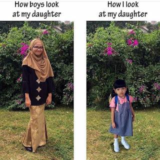 9 PERKARA ANAK PEREMPUAN ANDA PERLU TAHU, cara mendidik anak perempuan, anak perempuan, cara mendidik anak, tips ibu bapa,keibubapaan
