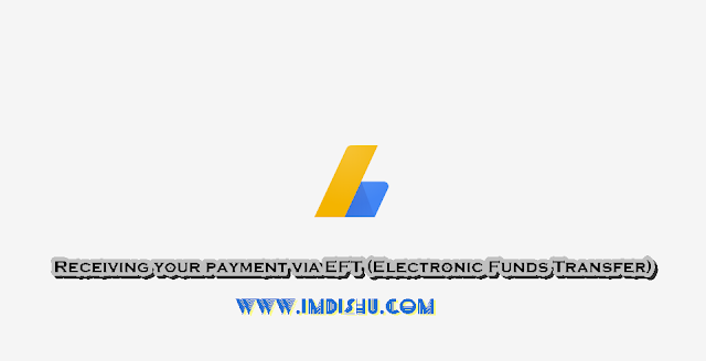 Receiving your payment via EFT (Electronic Funds Transfer) in hindi