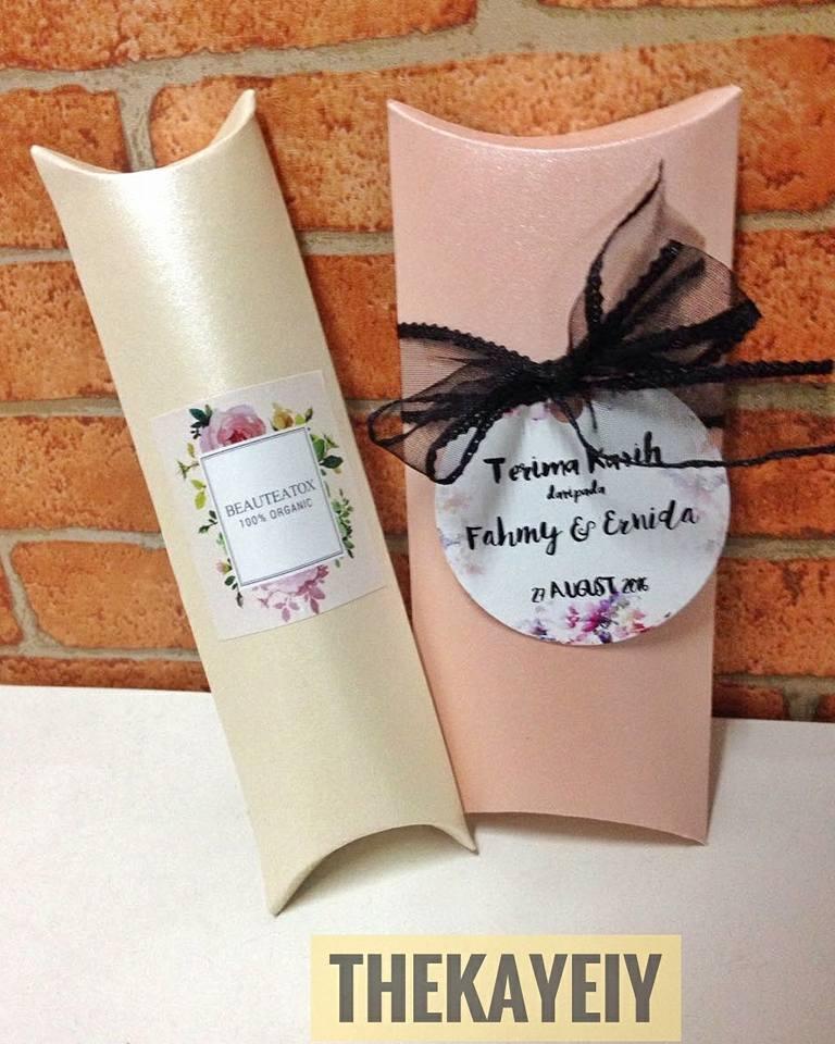 Ainul mustafa door gift perkahwinan murah exclusive for Idea door gift perkahwinan