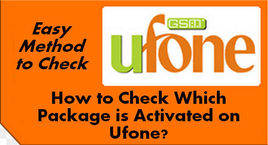 How to Check Which Package is Activated on Ufone?