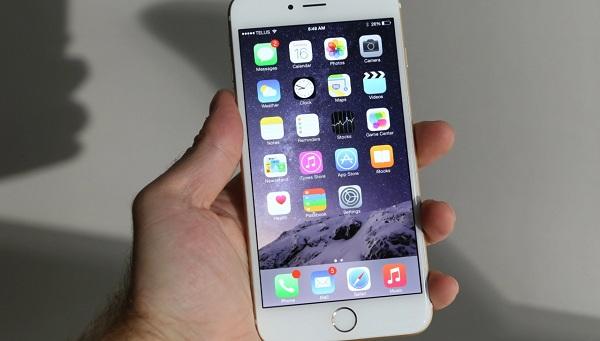 iPhone 6 Plus sau khi thay mới mặt kính tại MaxMobile