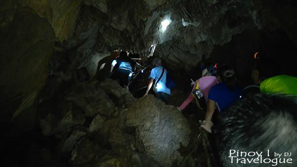 Inside Tinipak Cave