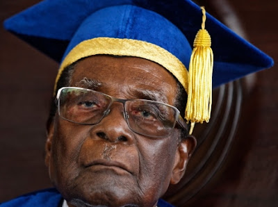 mugabe first public appearance
