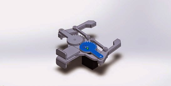 How to assembly Robot Arm 3D in SolidWorks - SolidWorks Share