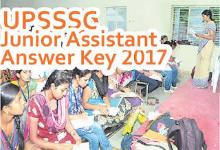 UPSSSC Junior Assistant Answer Key 2017