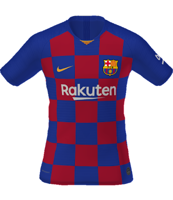 PES 2019 Barcelona Kits 2019/2020 by tekask1903 ~ Game Plus Patch