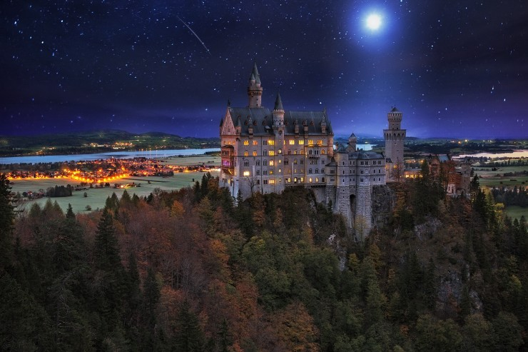 20 Spots In Europe You Must See Before You Die - Neuschwanstein Castle, southwest Bavaria, Germany.