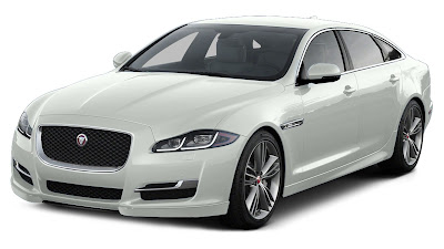 Jaguar XJ premium luxury sedan Hd Wallpaper