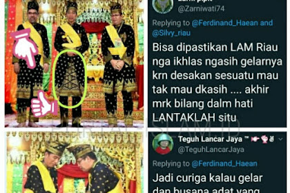 Jokowi Kenakan Pakaian Adat Seperti Anak Gadis, Tengku Zulmizan: Bisa Timbul Tulah! Komentar Ferdinand Bikin Kaget Lagi