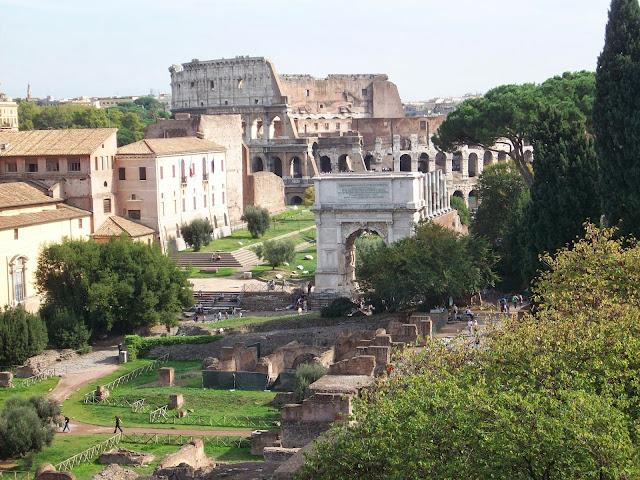 visitando los foros romanos