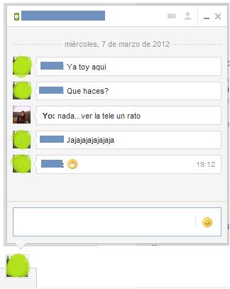 hablar por chat