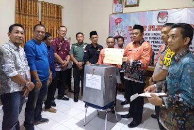 KPU Lampung Timur Laksanakan Rapat Pleno Terbuka Rekapitulasi Hasil Pilgub 2018