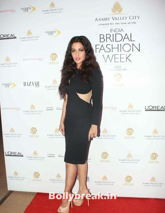 Riya Sen, Celebs at India Bridal Fashion Week 2013 Day-6