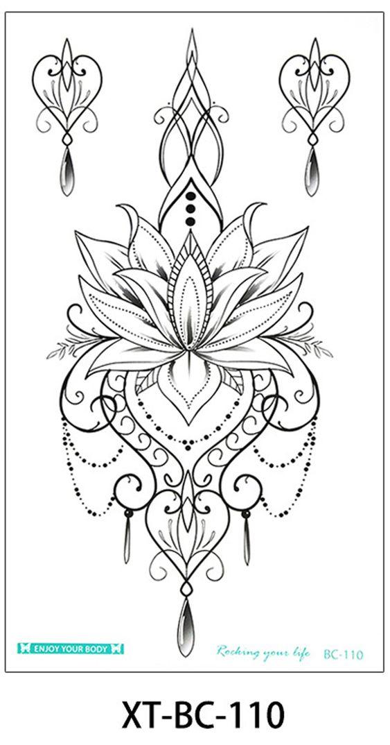 30 Stunning Lotus Flower Tattoo Ideas