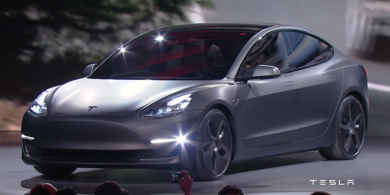 Tesla Model 3 (The Electric Car)