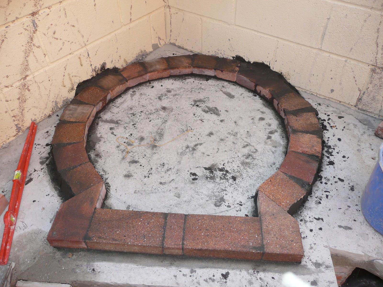 Recetas f ciles de josean mg replanteo del horno con fotos - Medidas hornos de lena ...