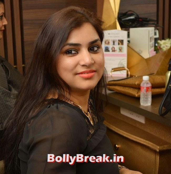 Pooja Gulati, Hair and Makeup Studio 'ANGE', Launch Pics