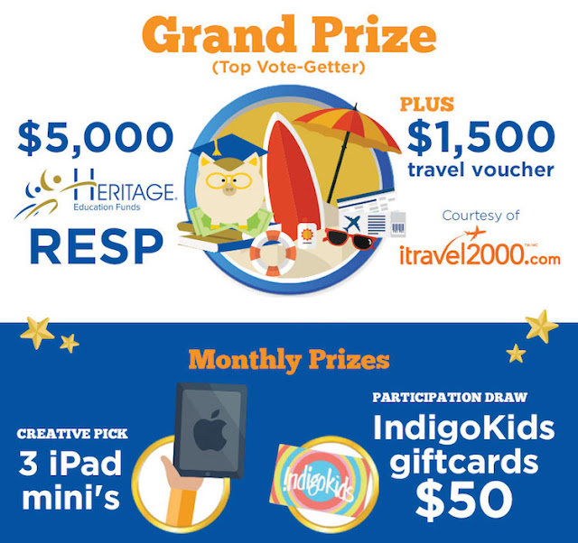 Heritage Education Funds #MyLittleDreamer Contest Prizes