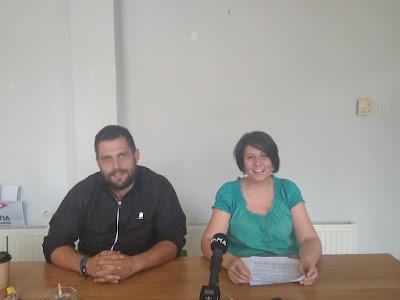 ΕΡΓΑΤΙΚΟ ΚΕΝΤΡΟ ΙΩΑΝΝΙΝΩΝ-Συνέντευξη για το αυριανό συλλαλητήριο