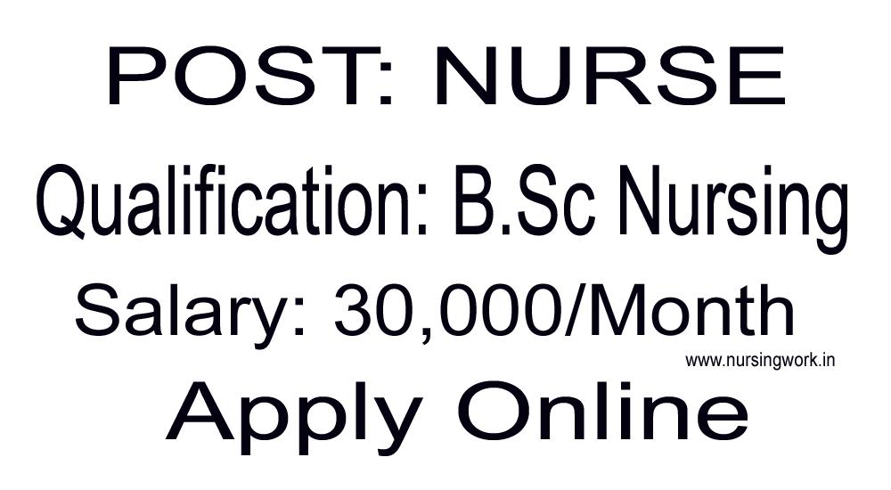 NURSING JOBS: AIIMS Nurses Recruitment- 30,000 Salary Per