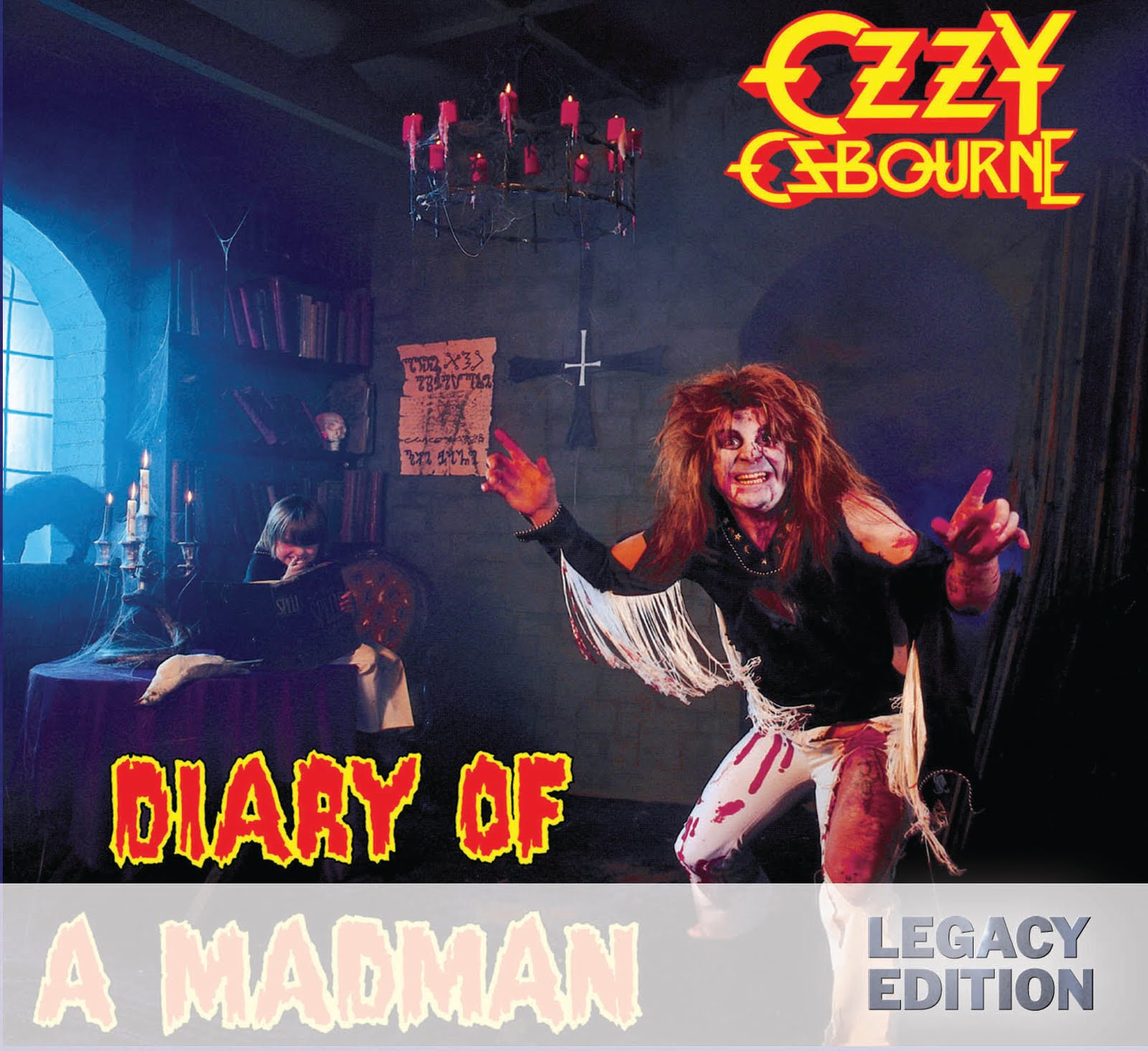 ozzy osbourne diary of a madman legacy edition. Black Bedroom Furniture Sets. Home Design Ideas
