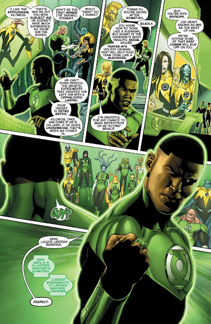 HAL JORDAN AND GREEN LANTERN CORPS 15