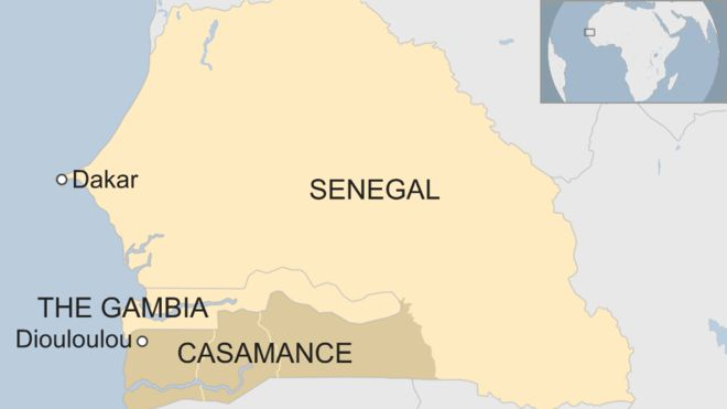 Tourists sexually assaulted in Senegal's Casamance region