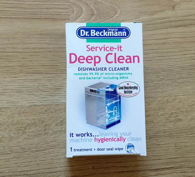 Dr Beckmann dishwasher cleaner