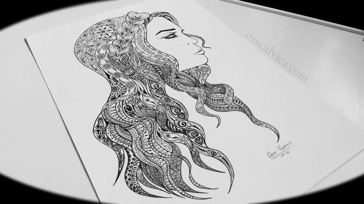 Ilustración de mujer #2