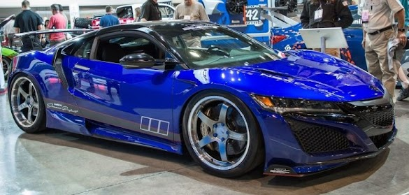 ScienceofSpeed Builds a Special Acura NSX with More Wing