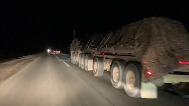 EEUU envía 60 camiones de armas a Siria, ¿y se está retirando?