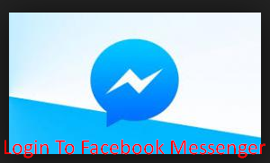 Login To Facebook Messenger