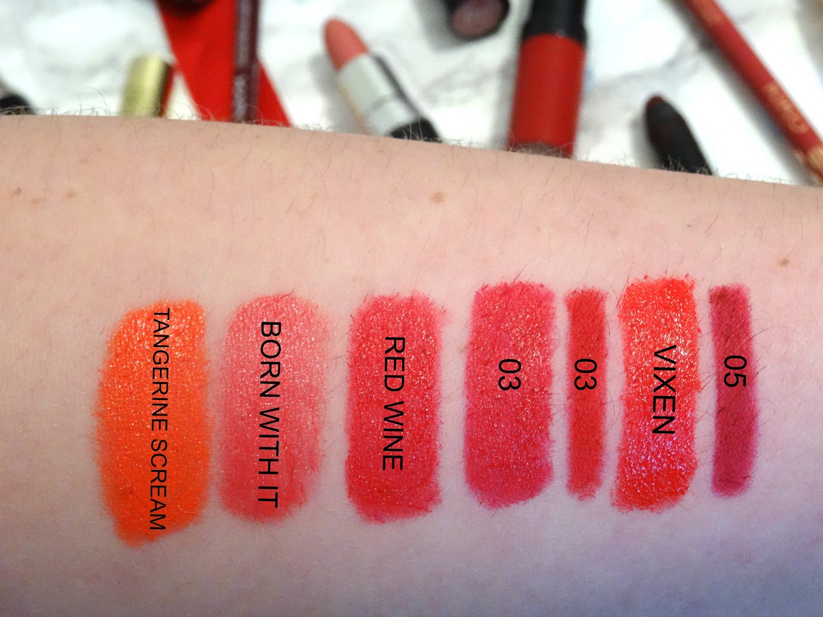 My Entire Lipstick Drawer Swatchbook Brights
