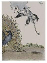 Dongeng Burung Merak yang Angkuh dan Bangau (Aesop) | DONGENG ANAK DUNIA