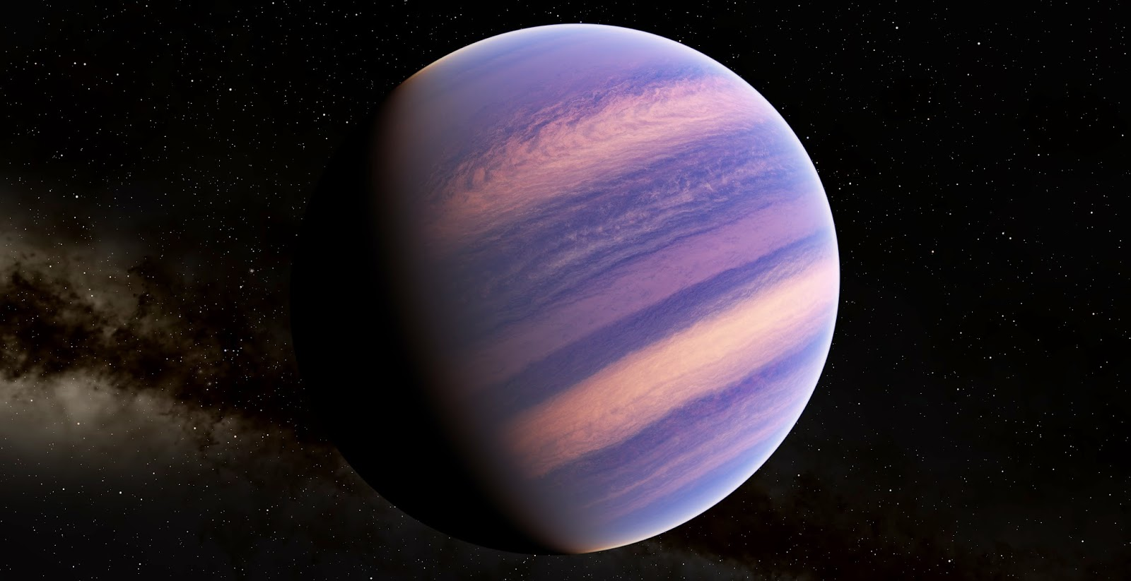 Red Gas Giant Pics about space