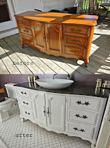 Rustyfarmhouse Diy - Repurposing Buffet Dresser