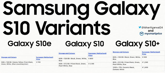 https://twitter.com/ishanagarwal24/status/1091215972281864193?ref_src=twsrc%5Etfw%7Ctwcamp%5Etweetembed%7Ctwterm%5E1091215972281864193&ref_url=https%3A%2F%2Fappuals.com%2Fsamsung-galaxy-s10-european-prices-revealed-line-up-will-start-at-e749%2F