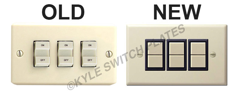 Kyle Switch Plates  How To Replace A Low Voltage Ge Switch  U0026 Relay  Install Tips
