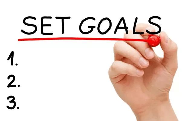 حدِّد الأهداف