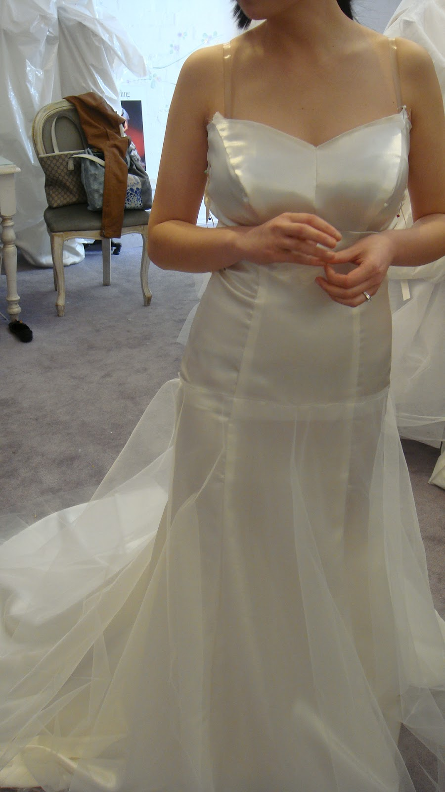 Wedding Dress 2nd Ing I Was Delighted To Finally Go For My This Second Involves Me Trying On The Calico Or Toile Which Is A